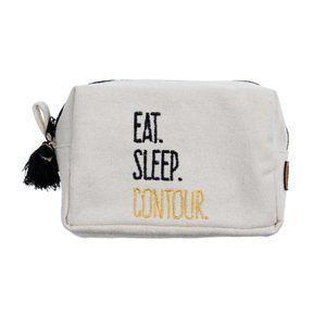 """""""eat. sleep. contour""""  zipper Pouch"""